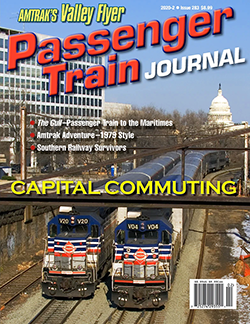 Passenger Train Journal - 2nd QUARTER 2020 표지