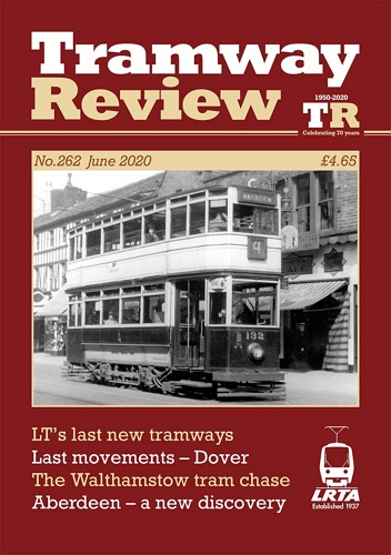 Tramway Review - June 2020 표지