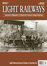 Light Railways - No.273 June 2020 표지