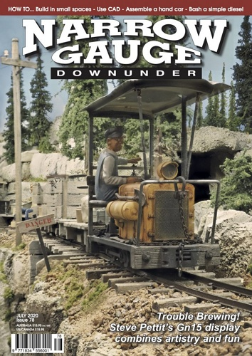 Narrow Gauge Downunder - July 2020 표지