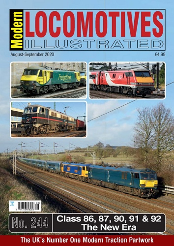 Modern Locomotives Illustrated - Issue 244 표지