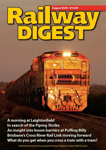 Railway Digest - August 2020 표지