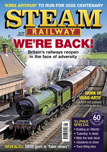 Steam Railway - issue 508 표지