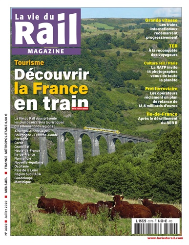 La vie du rail Magazine - no 3370 표지