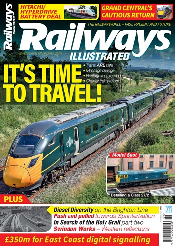 Railways illustrated - September 2020 표지