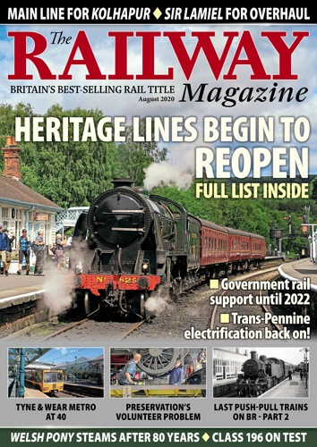 The Railway Magazine - August 2020  표지