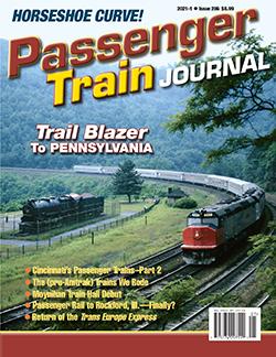 Passenger Train Journal - 1st QUARTER 2021 표지