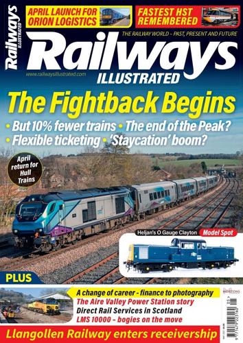 Railways illustrated - MAY 2021 표지