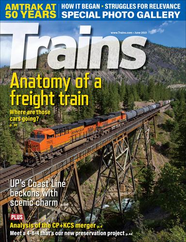 Trains - June 2021 표지
