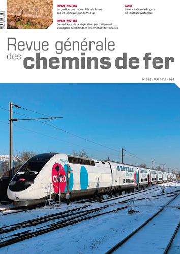 Revue Generale des Chemins de Fer - Issue 315 표지