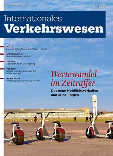 Internationales Verkehrswesen - Ausgabe 2   2021 표지