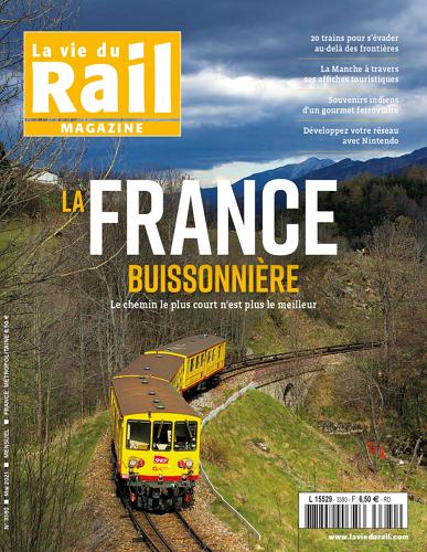 La vie du rail Magazine - no 3380 표지
