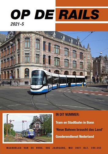 Op de Rails - 2021 - nr.5 (mei) 표지
