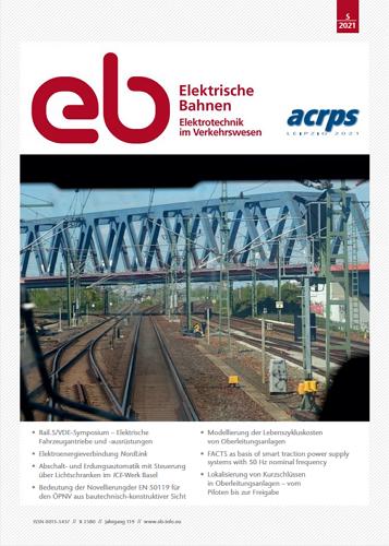 Elektrische Bahnen - 5/2021 표지