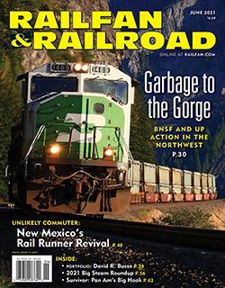 Railfan and Railroad - JUNE 2021 표지