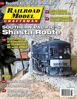 Railroad Model Craftsman - JUNE 2021 표지