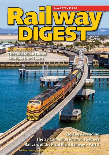 Railway Digest - June 2021 표지