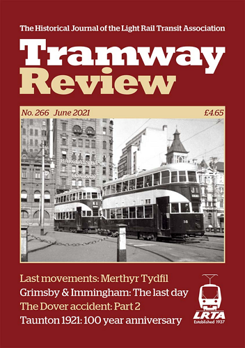 Tramway Review - June 2021 표지