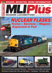 Modern Locomotives Illustrated - Issue 249 표지