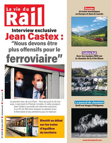 La Vie du Rail Hebdo - No.3835 표지