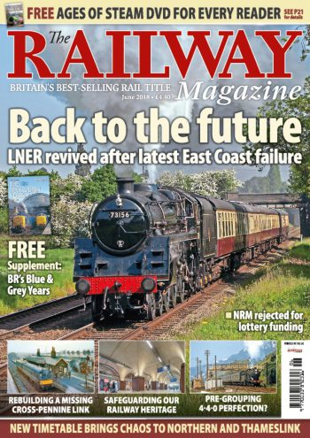 The Railway Magazine - June 2021 표지