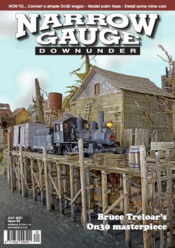 Narrow Gauge Downunder -  July 2021 표지