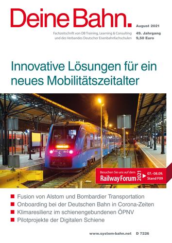 Deine Bahn - 8/2021 표지