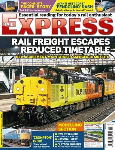 Rail Express - AUGUST 2021 표지