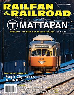 Railfan and Railroad - SEPTEMBER 2021 표지