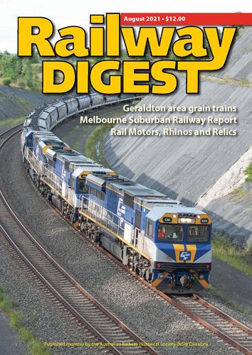 Railway Digest - August 2021 표지