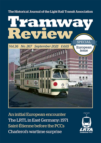 Tramway Review - September 2021 표지