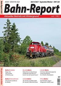 Bahn-Report - Ausgabe 5/2021 표지