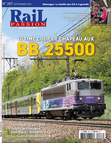Rail Passion - No 287 표지
