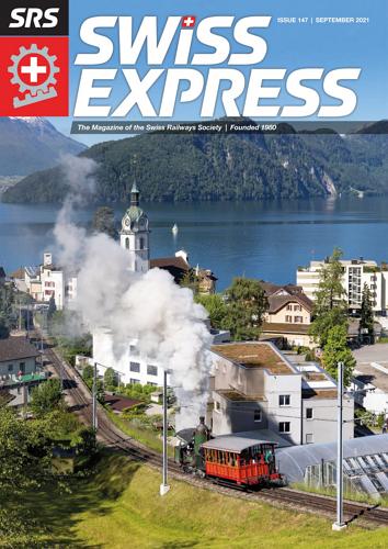 Swiss Express - September 2021 표지