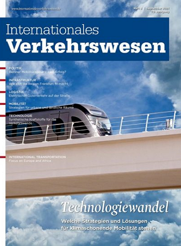 Internationales Verkehrswesen - Ausgabe 3 | 2021 표지