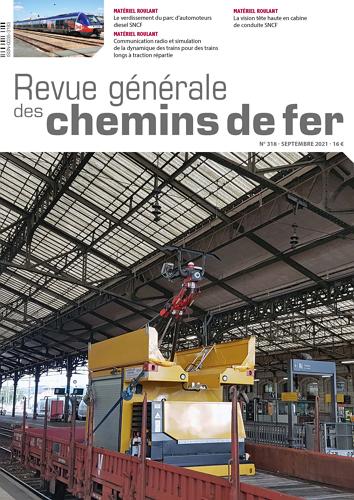 Revue Generale des Chemins de Fer - Issue 318 표지
