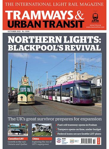 TRAMWAYS and URBAN TRANSIT - October 2021 표지