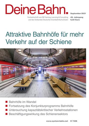 Deine Bahn - 9/2021 표지