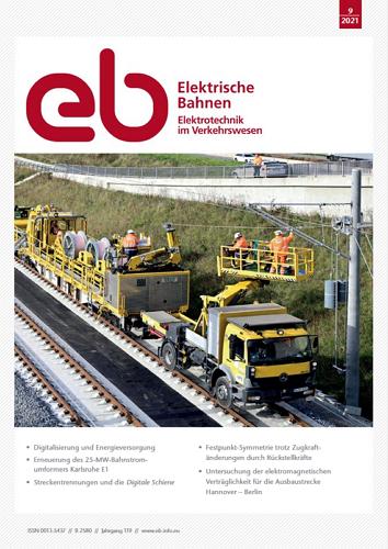 Elektrische Bahnen - 9/2021 표지