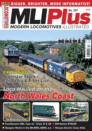 Modern Locomotives Illustrated - Issue 251 표지