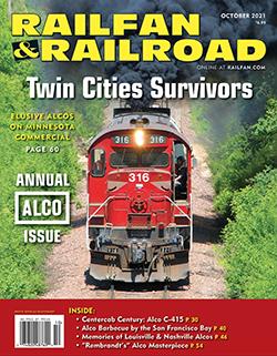 Railfan and Railroad - OCTOBER 2021 표지