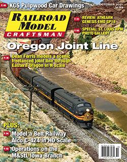 Railroad Model Craftsman - OCTOBER 2021 표지