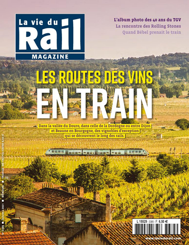 La vie du rail Magazine - no 3385 표지