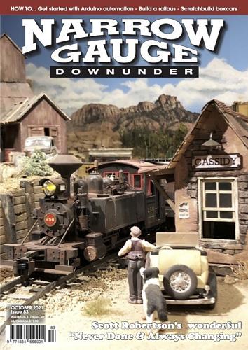 Narrow Gauge Downunder - Issue 83 October 2021 표지